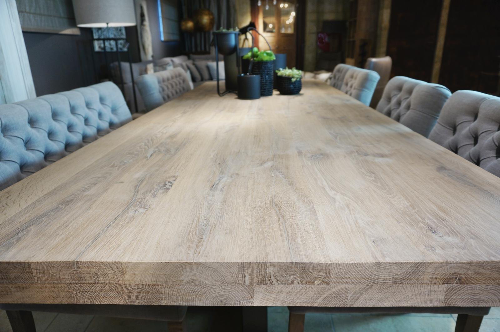 Tafel Grijs Eiken : Gebakken eiken tafel vergrijsd looiershuis recent added items
